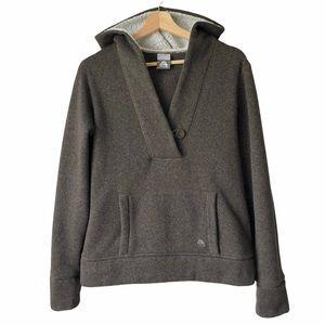 Nike ACG Women's Brown Sweater Sherpa Hoodie L